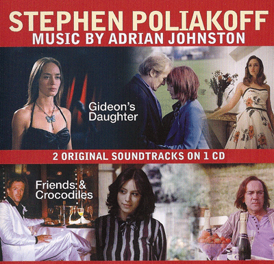 CD cover Stephen Poliakoff music by Adrian Johnston