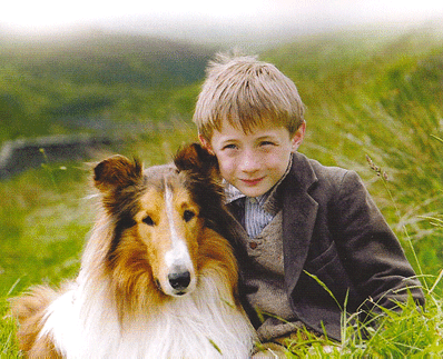 Boy and his dog - Lassie